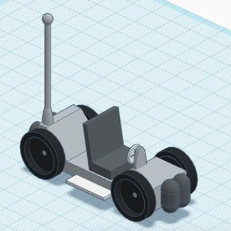 Design a lunar rover
