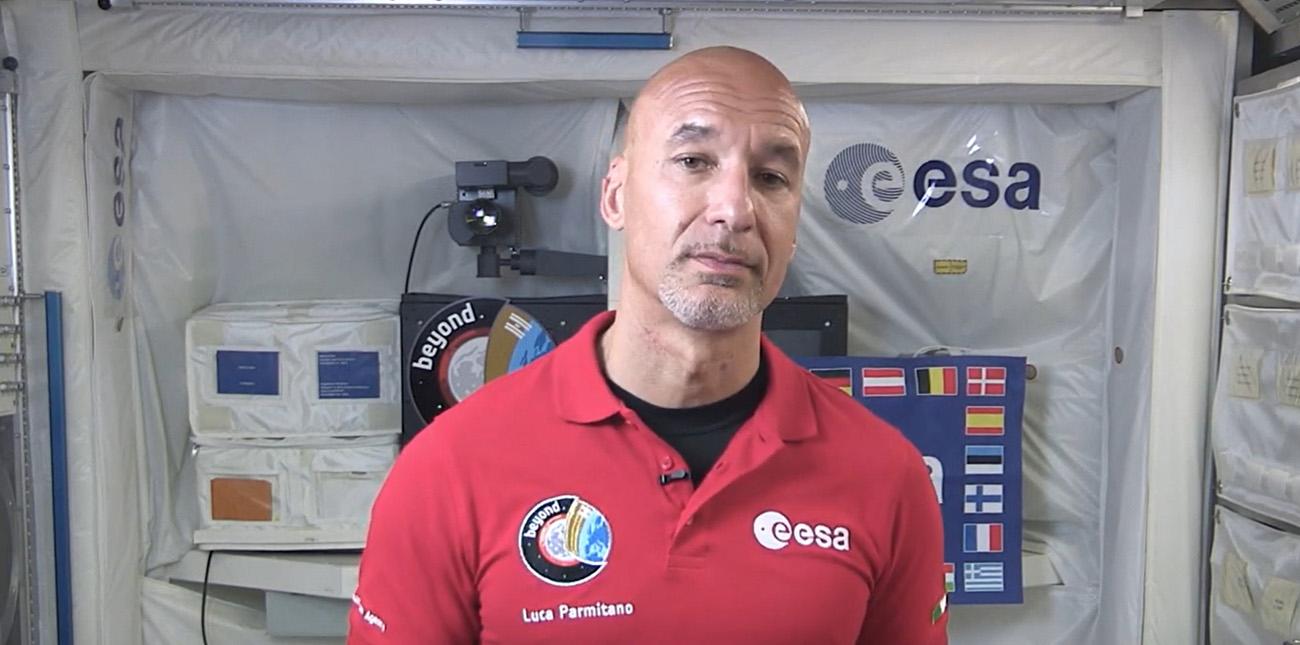 Luca Parmitano congrats